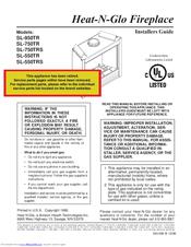 Heat N Glo Sl 550tr Manuals Manualslib