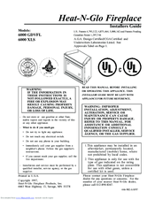 Heat N Glo 6000 Gdvfl Manuals Manualslib