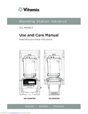 vitamix blending station advance manuals rh manualslib com vitamix blending station advance manual Vitamix Cover