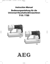 AEG 723 Instruction Manual