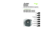 Mitsubishi Electric FR-F700PJ Series Instruction Manual