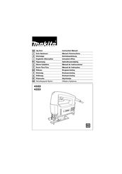 Makita 4323 Instruction Manual
