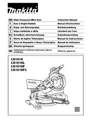 makita compound miter saw manual