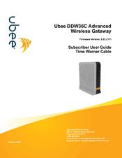 UBEE DDW36C USER MANUAL Pdf Download