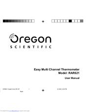 oregon scientific rar621 manuals rh manualslib com