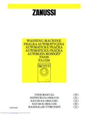 Zanussi FA1026 User Manual