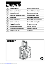 Makita DMR107 Instruction Manual