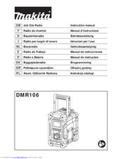 Makita DMR106 Instruction Manual
