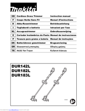 Makita DUR142L Instruction Manual