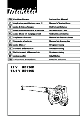 Makita UB140D Instruction Manual
