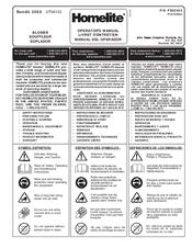 Homelite Yard Broom UT08087 Operator's Manual