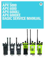 MOTOROLA APX 5000 SERVICE MANUAL Pdf Download