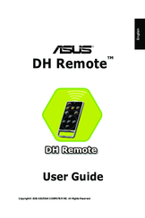 Asus DH Remote User Manual