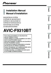 pioneer avic f9310bt manuals