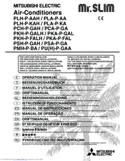 Mitsubishi Electric Mr.SLIM PUH-P6YGAA Operation Manual