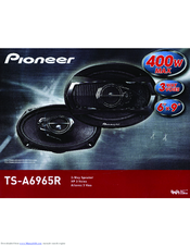 Pioneer TS-A6965R Instruction Manual