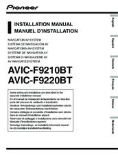 pioneer avic f9220bt manuals