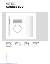 Bosch CANbus LCD Manuals
