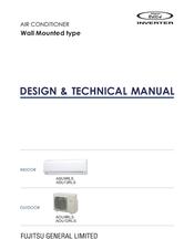 Fujitsu Inverter Halcyon Asu12rls Manuals