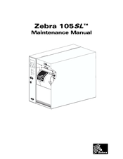 zebra 105 sl manuals rh manualslib com zebra 105sl plus maintenance manual zebra 105se maintenance manual
