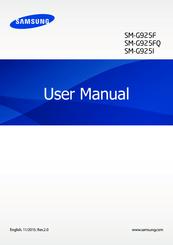 SAMSUNG SM-G925F USER MANUAL Pdf Download