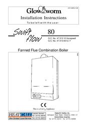 Glow-worm swift flow 80 Manuals