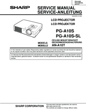 Sharp notevision xr-10x manuals.