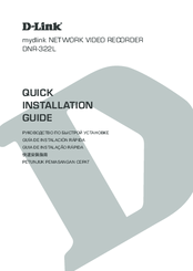 D-Link MYDLINK DNR-322L Quick Installation Manual