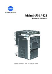 konica minolta bizhub 501 manuals rh manualslib com manual tecnico konica minolta bizhub 501 konica minolta bizhub 500 manual