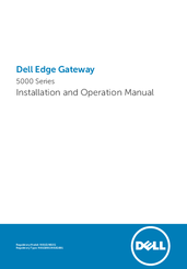 Dell 5000 Series Installation And Operation Manual