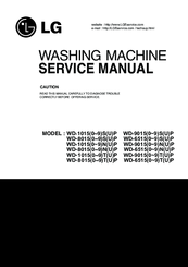 LG WD-65150NUP Service Manual