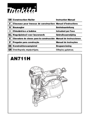 Makita AN911H Instruction Manual