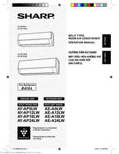 sharp ae a24lw manuals rh manualslib com