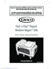 Graco pack 'n play playard with newborn napper station lx.