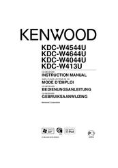 kenwood kdc w4044u manuals rh manualslib com Kenwood KDC Bt648u Kenwood KDC- 152