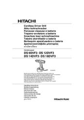 hitachi ds14dvf3 manuals rh manualslib com Hitachi StarBoard Manual Hitachi Repair Manual