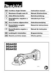 makita dga452 manuals rh manualslib com makita user manuals uk makita sp6000 user manual