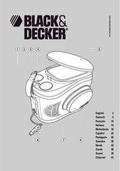 Black & Decker bdv212f Manual