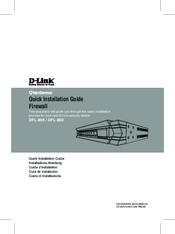 D-Link DFL-860 Quick Installation Manual