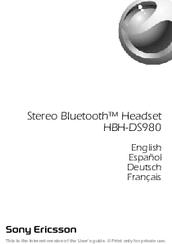 hbh-ds980 manual pdf