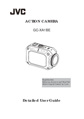 JVC GC-XA1BE User Manual