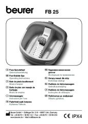 Beurer fb25 инструкция