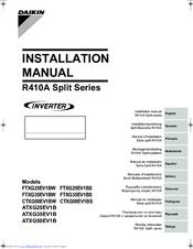 daikin operation manual split system