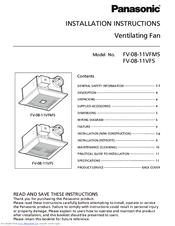 panasonic fv 08 11vf5 manuals rh manualslib com Manual Panasonic Radio Panasonic.comsupportbycncompass