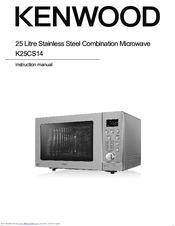 Kenwood K25CS14 Instruction Manual