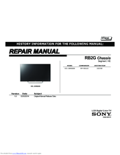 Sony kdl-50w800b manuals.