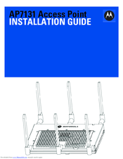 Motorola AP-7131 Series Installation Manual