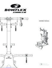 bowflex bowflex xtreme 2 se manuals rh manualslib com assembly manual for bowflex xtreme Bowflex Xtreme 2 Cable Diagram
