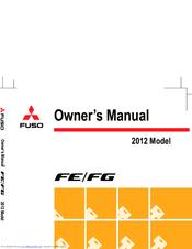 MITSUBISHI FUSO FE 2012 OWNER'S MANUAL Pdf Download