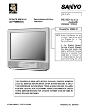 sanyo ds32224 manuals rh manualslib com sony owner manuals free sanyo owners manuel free